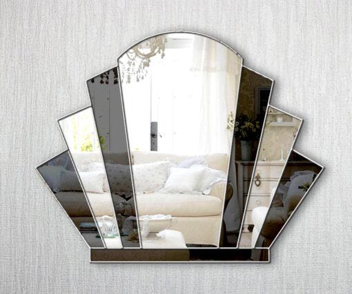 gatsby art deco wall mirror