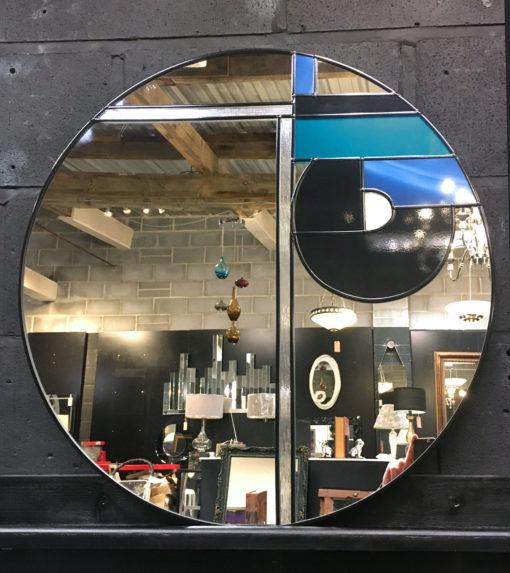 Hermes art deco frank lloyd wright wall mirror