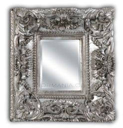 Sandringham Silver Ornate Framed Wall Mirror-0