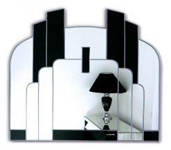 Savoy Original Handcrafted Art Deco Wall Mirror-0