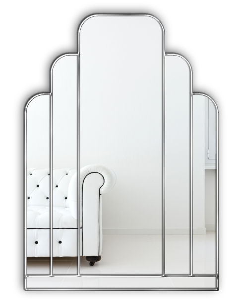 Tuscan Original Handcrafted Art Deco Wall Mirror – Bespoke Mirrors ...