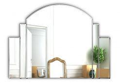 Venice Original Handcrafted Art Deco Overmantle Mirror-0