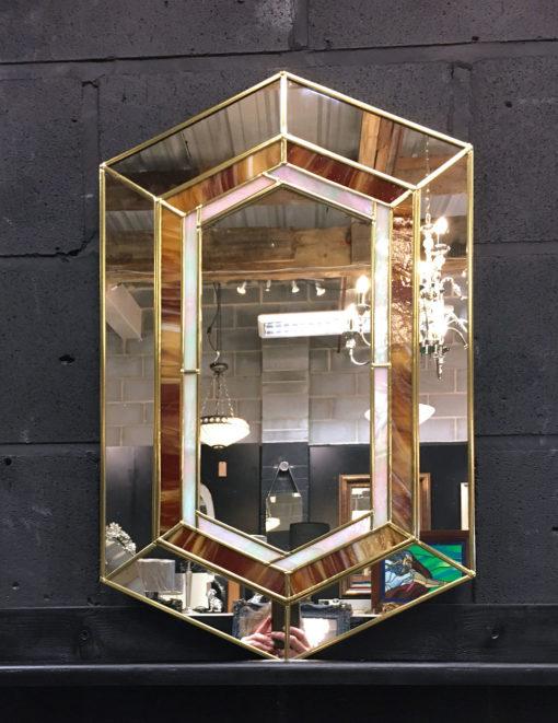 Gigi in Showroom detail 3 wall mirror