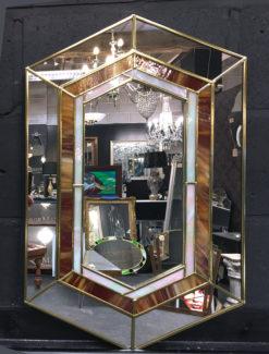 Gigi in Showroom detail 4 wall mirror