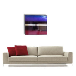 illusion set artistic wall mirror