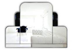 Lalique Original Handcrafted Art Deco Wall Mirror-0