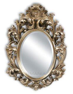 Beatrix Gold Ornate Framed Wall Mirror-0