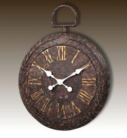 Perth - Large Metal Fob Wall Clock-0