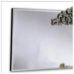 Chantilly Ornate Bevelled Overmantle Wall Mirror-0