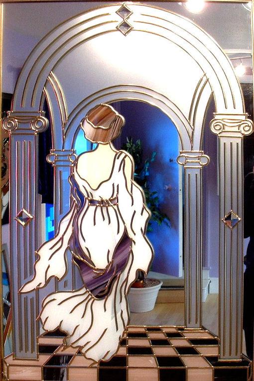 Romantic Roman Mirror