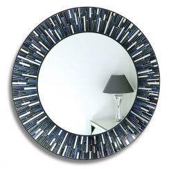 Sicily - Mosaic Wall Mirror, Blues-0