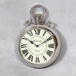 Wrights of York Pocket Watch Wall Clock OUT OF STOCK-0