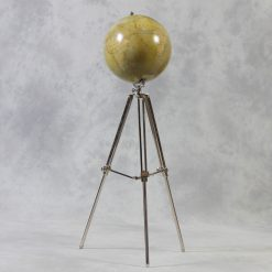 Large Globe On Tripod Stand-0