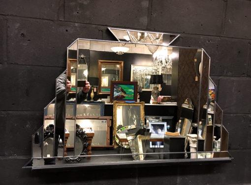 Edgar Silver in Showroom detail 2 wall mirror