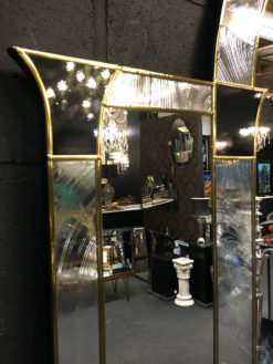 ornate grosvenor art deco mirror