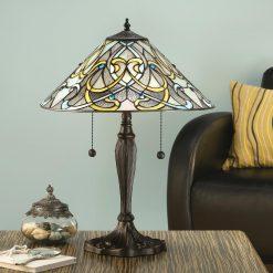 Dauphine Range Art Nouveau Tiffany Table Lamp-0