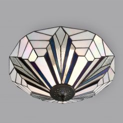 Astoria Range Art Deco Tiffany Ceiling Light-0