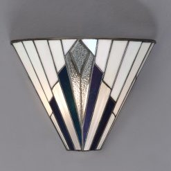 Astoria Range Art Deco Tiffany Wall Light-0