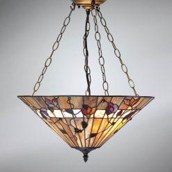 Bernwood Tiffany Ceiling Pendant-0