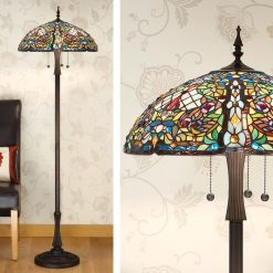 Anderson Tiffany Floor Lamp-0
