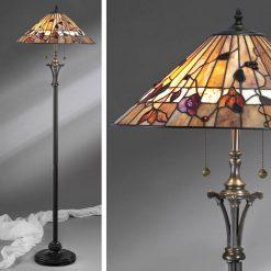 Bernwood Tiffany Floor Lamp-0