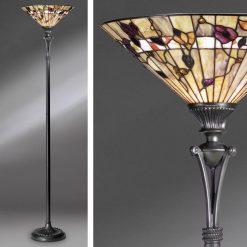 Bernwood Tiffany Uplighter Lamp-0