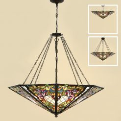 Anderson Tiffany Large Ceiling Pendant-0