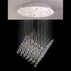 Colorado Shaped Crystal Ceiling Light-0