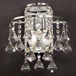 Inina Crystal Chandelier Wall Light-0