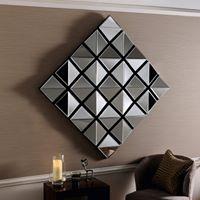 Canopus Modern Bevelled 3D Wall Mirror-0