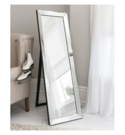 Lunar Modern Full Length Cheval Mirror-0