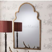Tobruk Metal Framed Window Wall Mirror-0