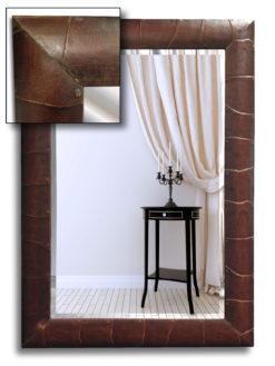 Armadillo Bespoke Handmade Framed Mirror-0