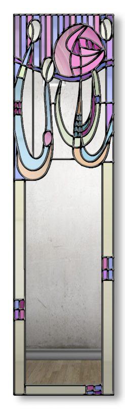 Anabel Rene Mackintosh Ebony Trim Mirror