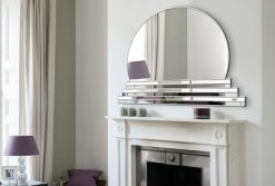 sol art art deco wall mirror