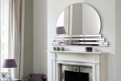 sol art art deco wall mirror