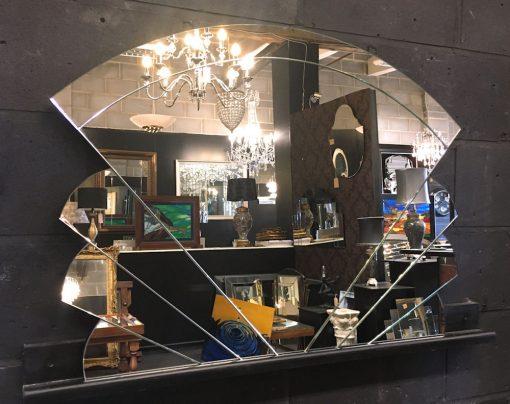 art deco fan wall live 2 mirror