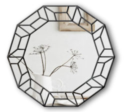 cornelius art deco wall mirror