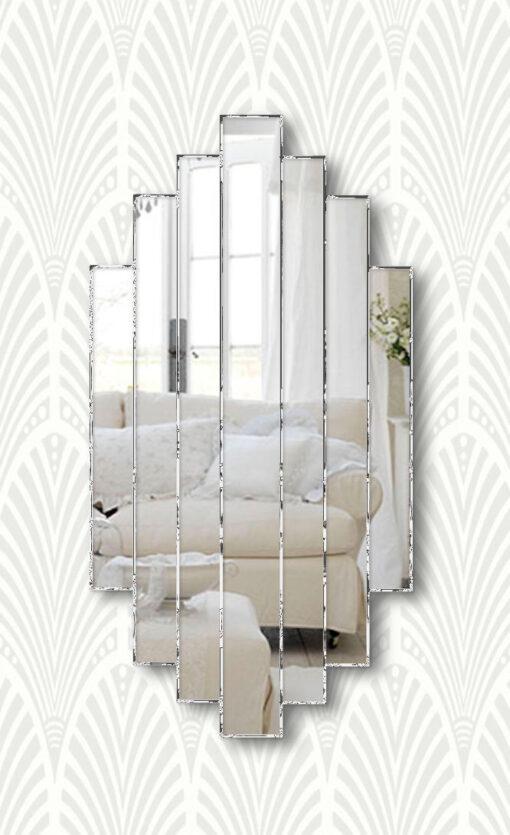 art deco handmade romance wall mirror
