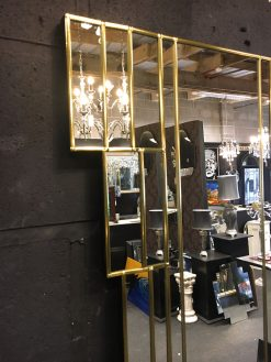 Rialto Gold Art Deco Wall detail Mirror