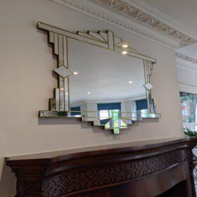 mia art deco mirror