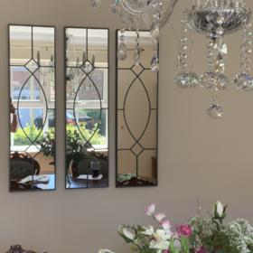 gretta gothic wall mirrors