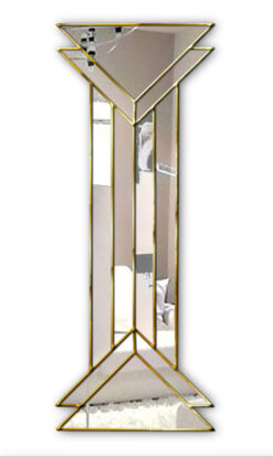 remus art deco dressing wall mirror