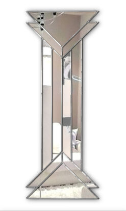 remus art deco wall mirror