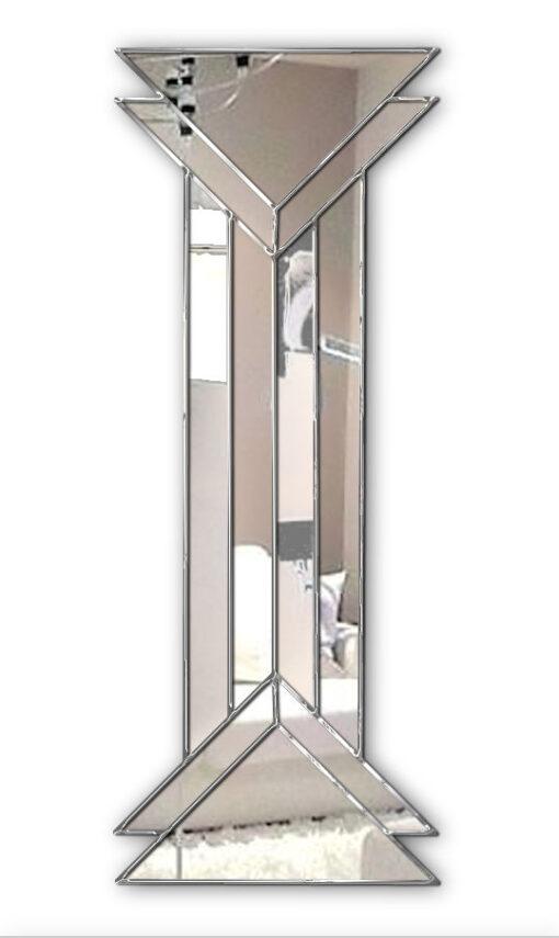 remus art deco wall mirror