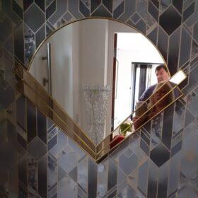 clarice art deco wall mirror testimonial