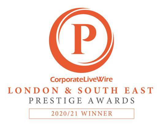 Mirror Manufacturer of the Year Award at the Corporate Livewire Prestige Awards