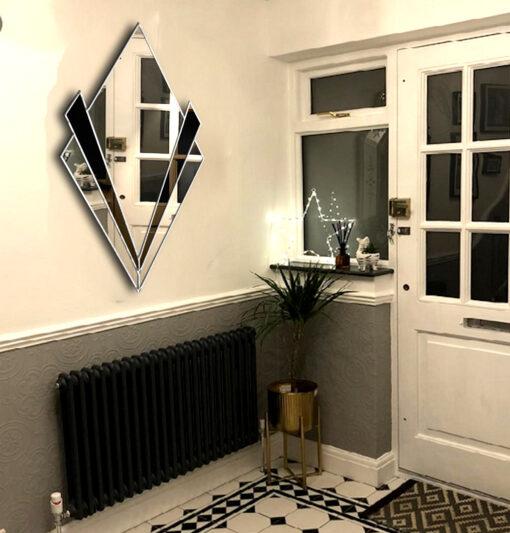 Zante room setting art deco wall mirror