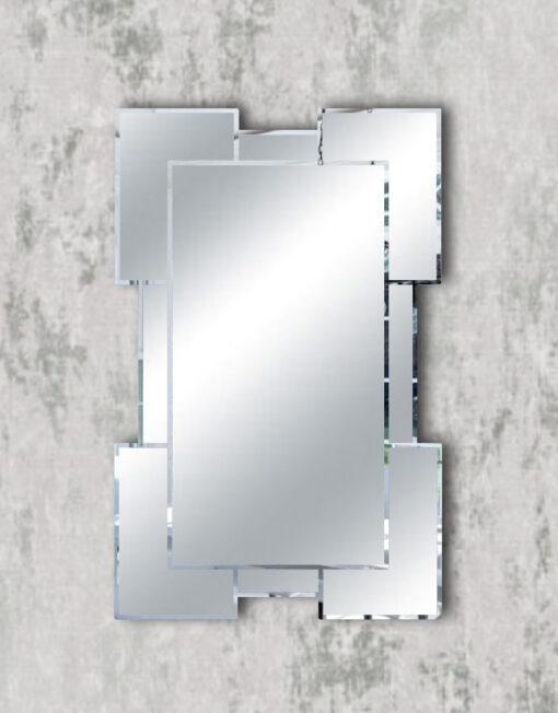 Tulsa simple modern contemporary wall mirror