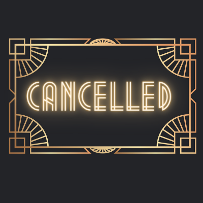 cancelled in art deco frame